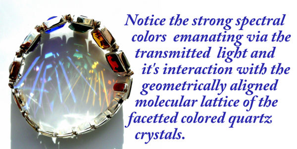 color therapy bracelet