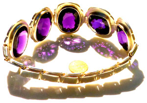 healing gems purple